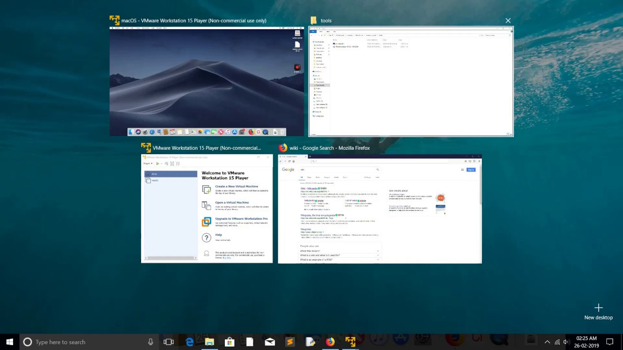 run mac os on vmware workstation 15