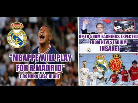 """""""Mbappe will play in Real Madrid"""" Fabrizio Romano 