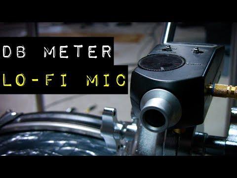 dB Meter = Lo-Fi Mic