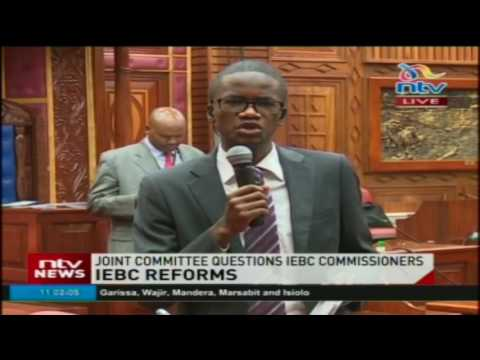 Joint Committee questions IEBC Commissioners