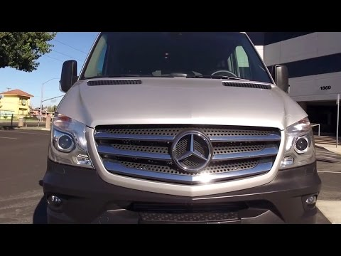 2016 Mercedes-Benz 2500 Sprinter UNBOXING Review - Why It's Way Cooler Than You Ever Thought