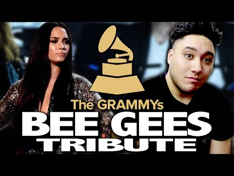Bee Gees Tribute  The 59th Annual Grammy Awards 2017 REACTION!!!