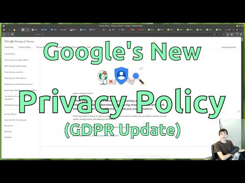 Google's New Privacy Policy
