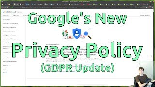 Google's New Privacy Policy Mp3