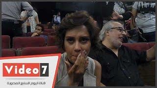 دموع ياسمين رئيس تتحدث عن محمد خان