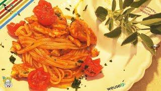 163 - Linguine alla gallinella...butti giù anche la padella! (primo piatto di mare semplice e buono)
