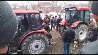 Bozok ve başak  traktör çekişmesi tokat Turhal Sarıkaya köyü