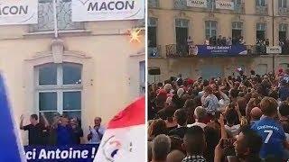 Antoine Griezmann à Mâcon, de retour chez lui avec un discours que l'on connaît bien