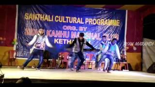 It's a santhali cultural programme organised by SKMC Kethardih.