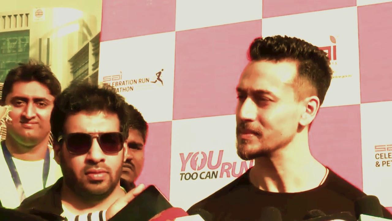 Tiger Shroff Talks About Baaghi 2 And Hrithik Roshan Run 2017