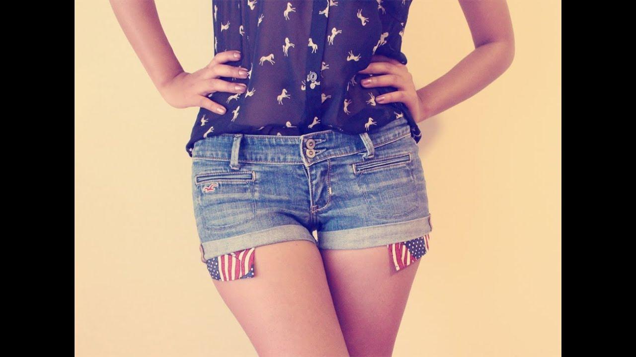2 chicas en shorts - 2 9