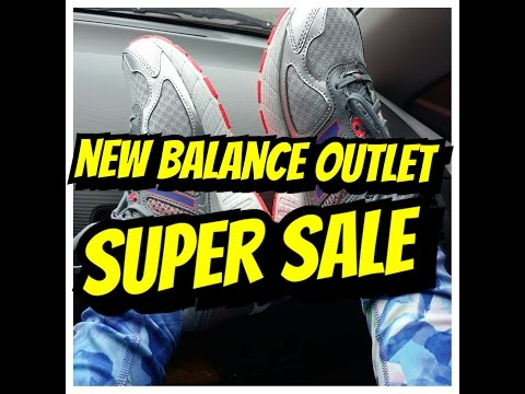 NEW BALANCE OUTLET!SUPER SALE!-debbiesantosvlogs