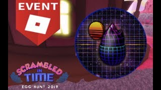 How to: Get the Retro Egg, The Geometric in Roblox Egg Hunt 2019