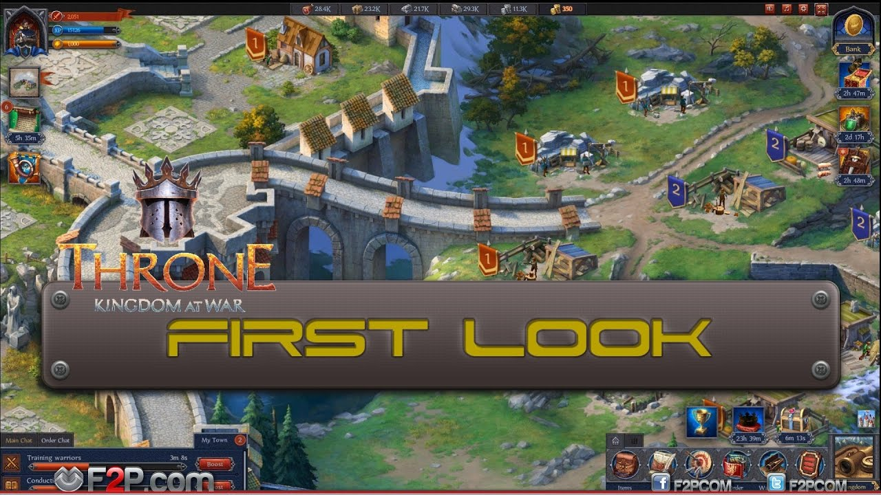 First Look At Throne Kingdom At War Youtube