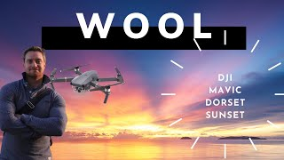 Sunset Over Wool - Drone 2K Footage