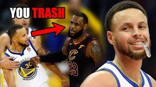 The Time Stephen Curry TRASH TALKED LeBron James In The NBA (Ft. Fights & Sad Boi Hours)