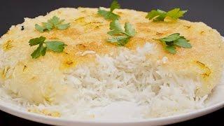 Tahdig Recipe - Crispy Persian Rice