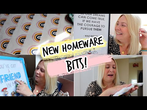 NEW HOMEWARE BITS!   Weekly Vlog