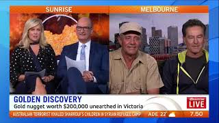 Aussie Gold Hunters Giant $200,000 Nugget Sunrise Story - 2KG Nugget
