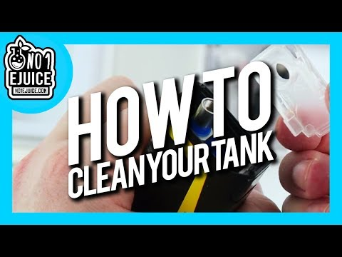 How to clean your iJOY RDTA Box Mini Tank | NO.1 EJUICE