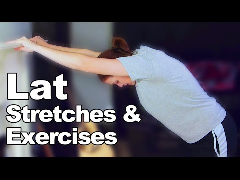Lat Stretches & Exercises (Latissimus dorsi) Ask Doctor Jo