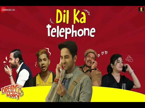 dil-ka-telephone-song---dream-girl- -ayushmaan-khurana- -new-song