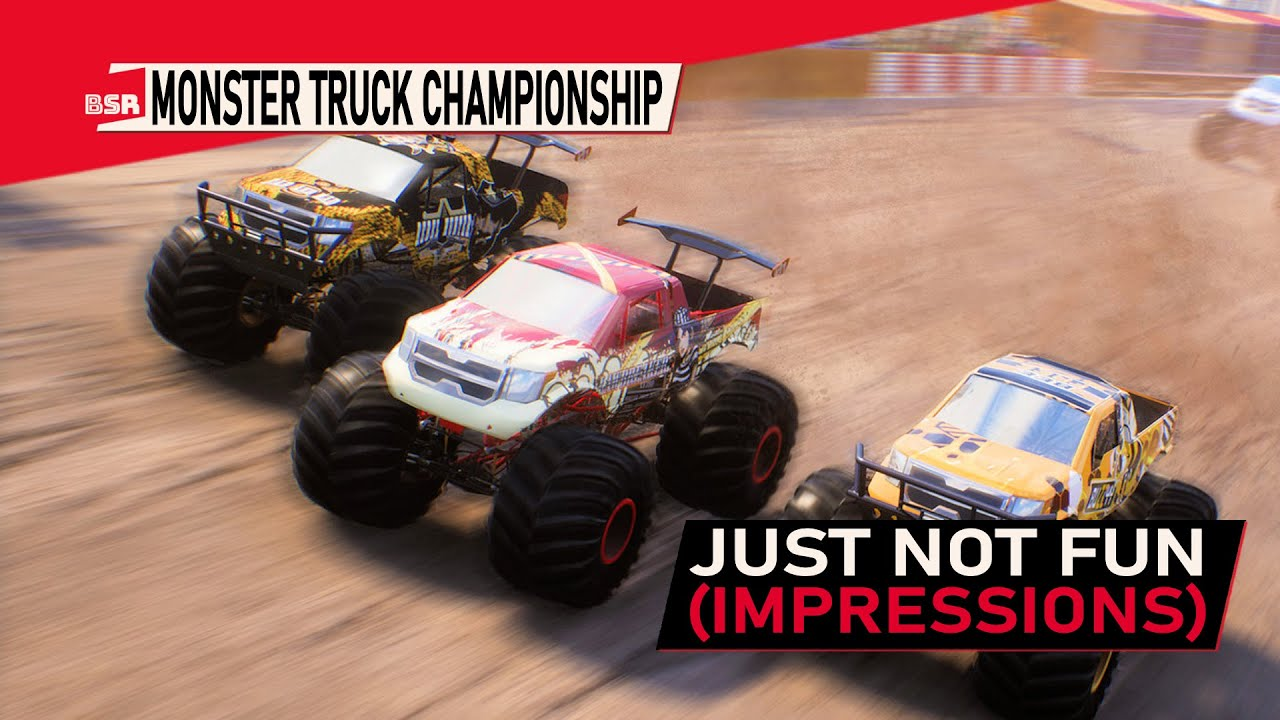 Billy Srange samples Monster Truck Championship