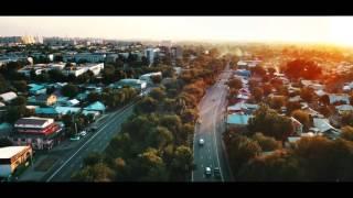 Проспект Райымбека Алматы 2017 с высоты птичьего полета HD