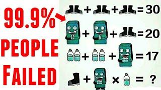 Puzzle answer : Shoe, robot an…