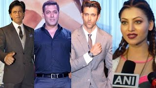 Urvashi Rautela Has Something To Say About Salman Khan, Shah Rukh Khan, Hrithik Roshan!