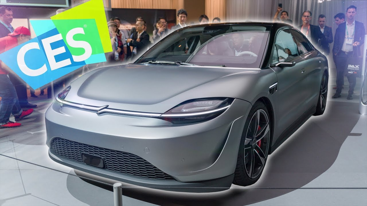 Dope Tech of CES 2020: Sony Made a Car?!