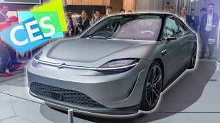 Download Dope Tech of CES 2020: Sony Made a Car?! Mp3 and Videos