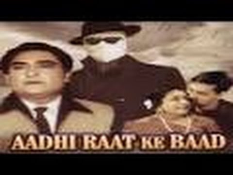 AADHI RAAT KE BAAD - Hindi Classic Film || Ashok Kumar, Ragini || Indian Classic Movies