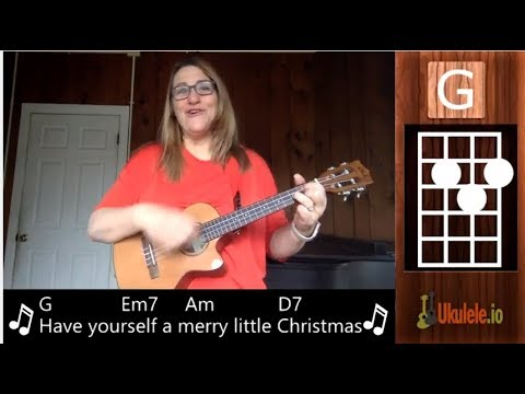 have yourself a merry little christmas ukulele tutorial 21 songs in 6 days