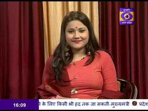 "Talk on ""New Hope in New Year in Play"" in morning show #NamasteUP - 1"