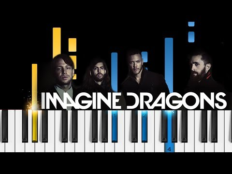 Imagine Dragons - Rise Up - Piano Tutorial - How to play Rise Up
