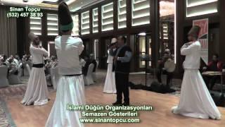 bursa sheraton hotel düğün organizasyonu bursa ilahi grubu ve semazen gösterisi