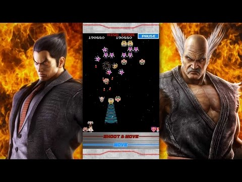 『Galaga : TEKKEN 20th Anniversary Edition』Trailer