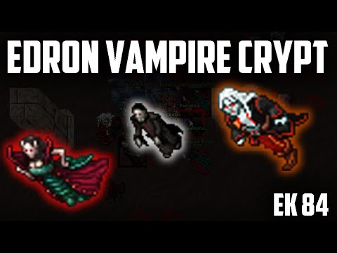 EK 84 EDRON VAMPIRE CRYPT - BEST places to hunt for KNIGHTS