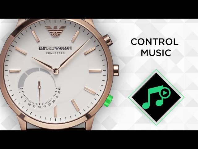 Emporio Armani Connected - Hybrid Smartwatch