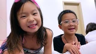 Học Tiếng Trung, Hàn, Nhật, Anh cùng Rio và Cherry | Gia Đình Lý Hải Minh Hà