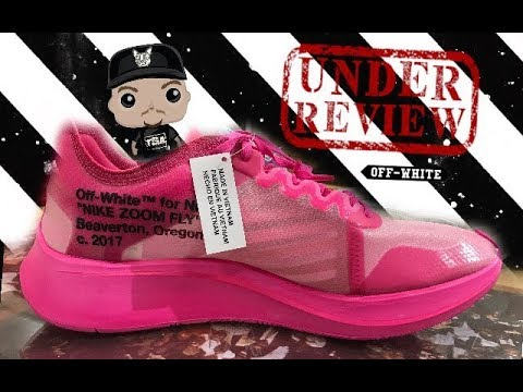 0e02febec9bd OFF WHITE NIKE ZOOM FLY PINK SNEAKER REVIEW  SNEAKERHEAD  OFFWHITE  NIKE