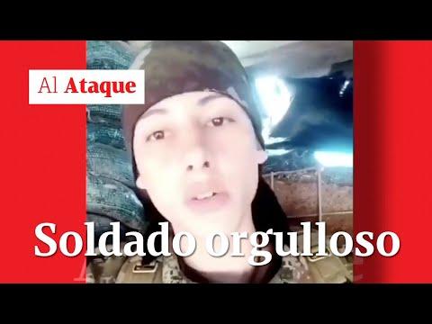 El soldado que volvió viral su amor al Ejército Nacional de Colombia | Al Ataque | Salud Hernández