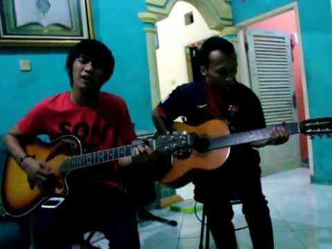 (2 Manusia - Ost Perahu Kertas) Indra Budi Pratama Feat Rizal cover
