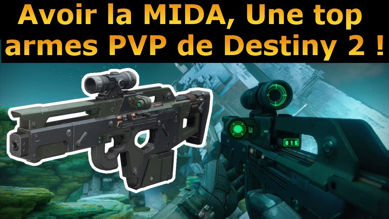 destiny 2 comment avoir la mida une des meilleures armes pvp youtube. Black Bedroom Furniture Sets. Home Design Ideas
