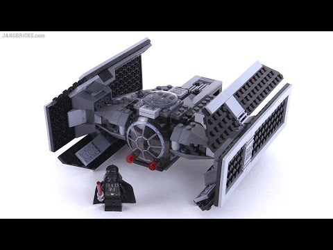 LEGO Star Wars Darth Vader's TIE Fighter from 2009! set 8017 - YouTube