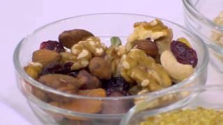 وجبات بروتين - شرائح خبز مشبعة | حلو وحادق حلقة كاملة