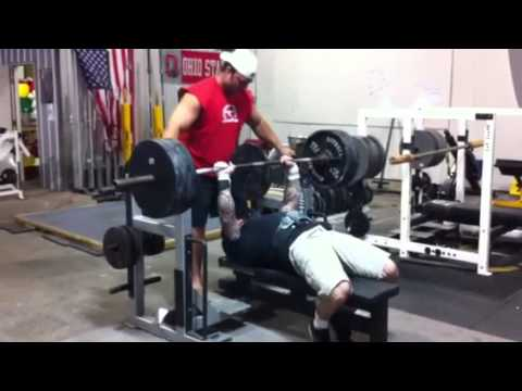 Jim Wendler- Bench Press 405x1