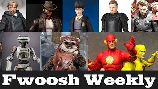 Weekly! Tons of SH Figuarts Avengers/Star Wars, Batman, Harry Potter, Logan, TMNT and lots more!