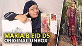 a4595421dd 👰 Maria B Wedding Collection 2018 - Unbox Nauratan BD09 - Sara ...